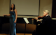 Roberta Rehner singing with Principal Violinist of Miami City Ballet, Geremy Miller