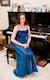 Roberta Rehner at the piano